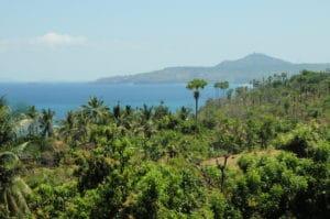 Lombok Strait view